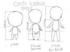Chibi Tutorial Body, text; How to Draw Manga/Anime