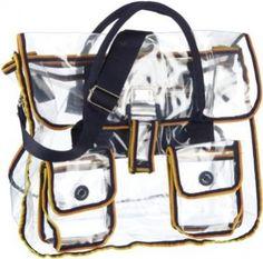 bag-trasparente-k-way Transparent Bag, Handbags, Totes, Purse, Hand Bags, Women's Handbags, Purses, Bags