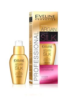 EVELINE #ARGAN LIQUID SILK FOR DAMAGED DRY #HAIR SMOOTHING #CONDITIONER