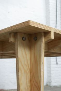 Boarded Floor Table / Plankenvloertafel By Marge. A Table Which Thinks  Sheu0027s A Floor.