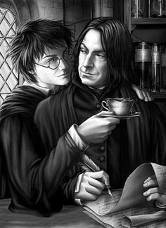 39 Awesome Snarry images | Harry potter severus snape