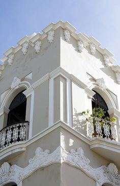 architecture in puerto rico | Spanish Colonial Architecture, San Juan, Puerto Rico - a photo on ...