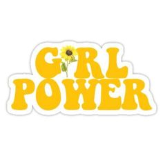 GIRL POWER - Style 2 Stickers
