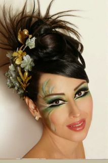 Blue Abaya: The Saudi Wedding Make-Up Masquerade