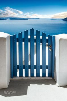 Santorini Island, Cyclades Greece by beatrice preve Paros Island, Santorini Island, Porta Colonial, Cyclades Greece, Arte Sharpie, Mediterranean Houses, Romantic Destinations, Travel Destinations, Greece Travel
