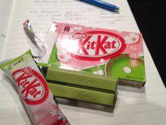 Green Tea-Flavored Kit Kat (click thru for analysis)