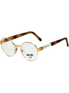 MOSCHINO BY PERSOL VINTAGE - round frame glasses 5