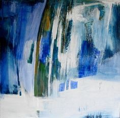 "Saatchi Art Artist Michelle Hold; Painting, ""Soulspace"" #art choose N by Rebecca Wilson for Abstract Art"