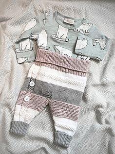 Ravelry: Lettvintbukse pattern by Veslestrikk Crochet Baby Clothes, Future Baby, Ravelry, Knit Crochet, Knitting, Toddlers, Sweaters, Pattern, Kids