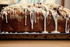 cranberry orange coffee cake by joy the baker, via Flickr