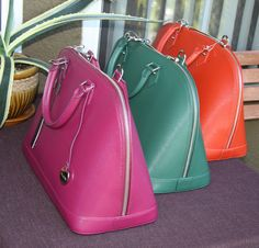 NWT Pulicati Epi Leather Large Satchel Tote Cross body Bag Made In Italy 3colors | eBay
