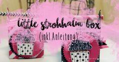 Papierstrohhalm, stampin´up, tinx box, Anleitung, Gastgeschenke