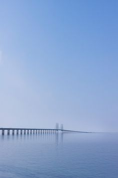Oresund Bridge runs between Denmark and Sweden.