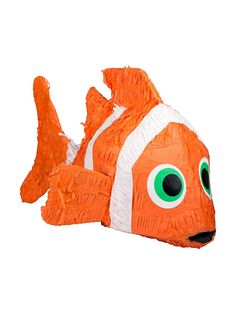 Clownfish Pinata (Each) - Pinatas  Party Supplies