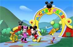 Mickey Mouse Popular Cartoon Character