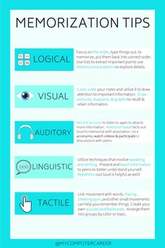 Memorization tips to help you study for your next exam! #studytips #studyinspiration Exam Study Tips, Exams Tips, School Study Tips, Study Habits, Revision Tips, School Tips, College Study Tips, Best Study Tips, Study Apps