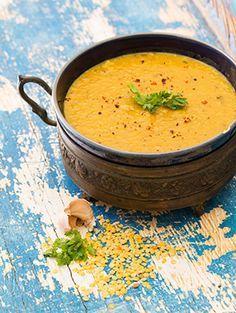 Dahl – az indiai vöröslencse-leves // Kristóf Konyhája