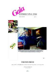 GALA 11 SEPTEMBRE 2013 PARUTION #Esthervina1950