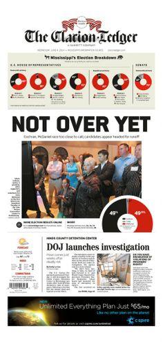 Mississippi Races Media Coverage