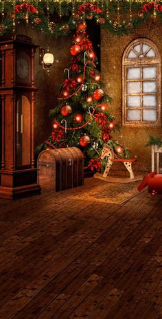 10 Festive Christmas Decorations Sure to Impress - Life Is Fun Silo Christmas Scenery, Christmas Backdrops, Gold Christmas Decorations, Christmas Mood, Christmas Pictures, Merry Christmas, Wallpaper Natal, Christmas Phone Wallpaper, Christmas Wallpaper