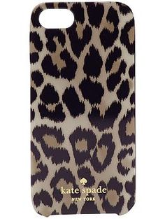 Kate Spade New York Leopard Ikat iPhone 5 Case | Piperlime