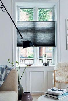 Dutte Shade TopDown black bij smalle openslaande ramen trend foto #artfloor