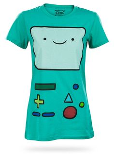 Beemo from ThinkGeek! One of my two favourite Adventure Time characters, and definitely the most adorable.
