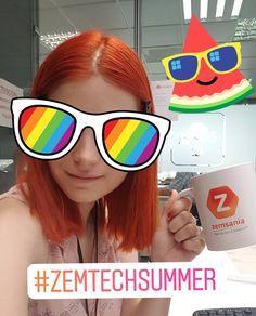 En el departamento de marketing de Zemsania ya hemos empezado el verano!  #zemtechsummer #Zemtecheste #aroha @zemsaniagroup