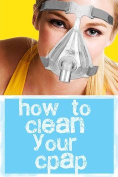 Your CPAP is Crawling with Germs.  Here's How to Clean it.  Click to Learn More!