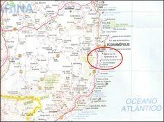 Mapas de Palhoça e Guarda do Embaú - SC - MapasBlog