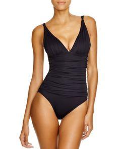 Lauren Ralph Lauren Beach Maillot One Piece Swimsuit