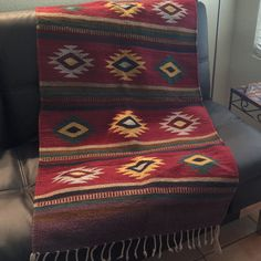 Warm Southwest colors will enliven any room! Check out all the Zapotec rugs I've gathered.