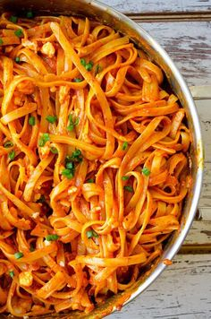 Fettuccine with Creamy Tomato Sauce and other award winning pasta with recipes Pastas Recipes, Easy Pasta Recipes, Sauce Recipes, Dinner Recipes, Fettuccine Recipes, Fettuccine Pasta, Linguine, Creamy Tomato Sauce, Tomato Sauce Recipe