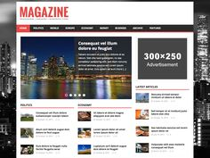 Are you looking for the best WordPress magazine themes or thinking to create a magazine website? Here we have picked best magazine themes for WordPress that you can use. Wordpress News Theme, Best Free Wordpress Themes, Premium Wordpress Themes, Wordpress Org, Themes Free, Free Magazines, News Magazines, Magazine Website, Free News