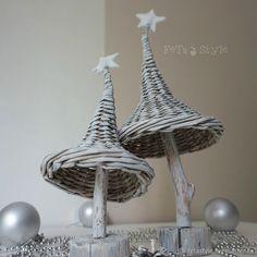 Decorative Bells, Christmas Tree, Home Decor, Xmas, Tejidos, Paper, Firs, Wicker, Fruit