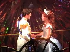 Sean Palmer as Prince Eric and Sierra Boggess as Ariel in Disney's The Little Mermaid on Broadway (2008)
