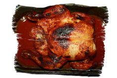 dobroty Dulinka: Pečené kuře v marinádě dle Jamieho Olivera Turkey, Meat, Food, Turkey Country, Essen, Meals, Yemek, Eten