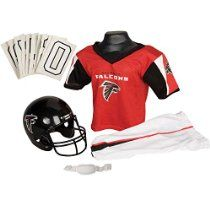 Franklin Sports NFL Atlanta Falcons Deluxe Youth Uniform Set, Small