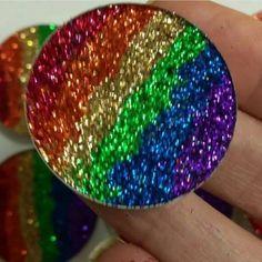 Pressed Glitter Metallic Rainbow-Custom Order
