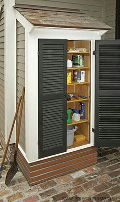 Will I Require a Building Permit for any Outdoor Storage Shed? Many occasions if somebody buys a brand new backyard outdoor storage shed from me at Alan's Factory Outlet, they ask will i requ… Outdoor Sheds, Outdoor Spaces, Outdoor Living, Outdoor Pergola, Cheap Pergola, Diy Pergola, Shed Storage, Small Storage, Diy Storage