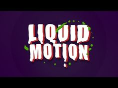 Imitating Liquid Motion in After Effects - YouTube