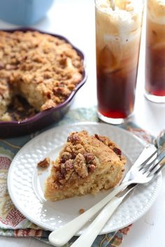 World's BEST Coffee Cake with Buttermilk Syrup
