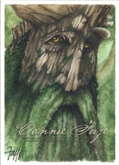 Treebeard by *ConnieFaye on deviantART ~ LOTR
