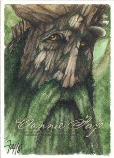 Treebeard by *ConnieFaye on deviantART ~ LOTR