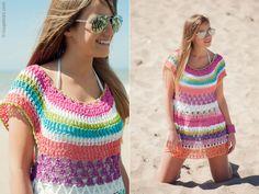 María Cielo: Inspiración crochet: Bisa Chefa