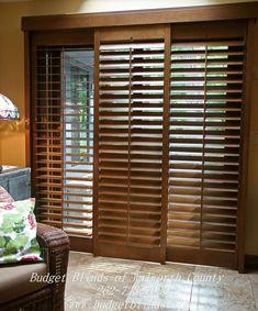 How To Determine The Right Window Coverings for Your House Patio Door Blinds, Patio Door Coverings, Sliding Patio Doors, Sliding Glass Door, Window Coverings, Glass Doors, House Windows, Windows And Doors, Bedroom Windows