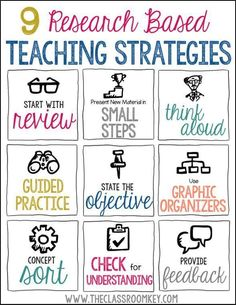 9 Research-Based Teaching Strategies for Your Toolbox