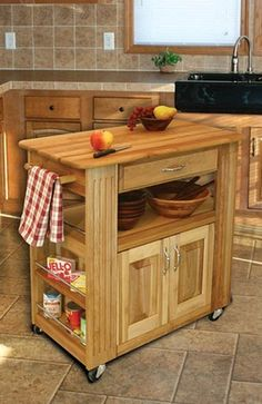 microwave stands with storage | red kitchen microwave storage