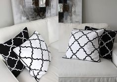 ELCESTOCKHOLM Pillows @Linda Lime in the Coconut White