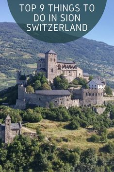 Sion is full of history and is situated in perfect Swiss Alps location. Let us discover what to do and find in beautiful Sion in Switzerland. Places In Switzerland, Visit Switzerland, Hiking Guide, Hiking Trails, Paragliding, Swiss Alps, Countries Of The World, Day Trips, Places To Travel